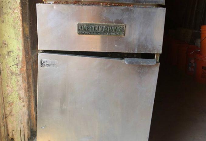 American Range Fryer