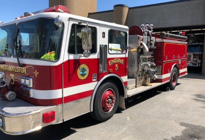 1991 KME Fire Fox Truck Pumper