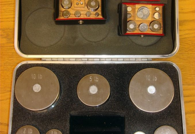 Calibration Weights- Set 5
