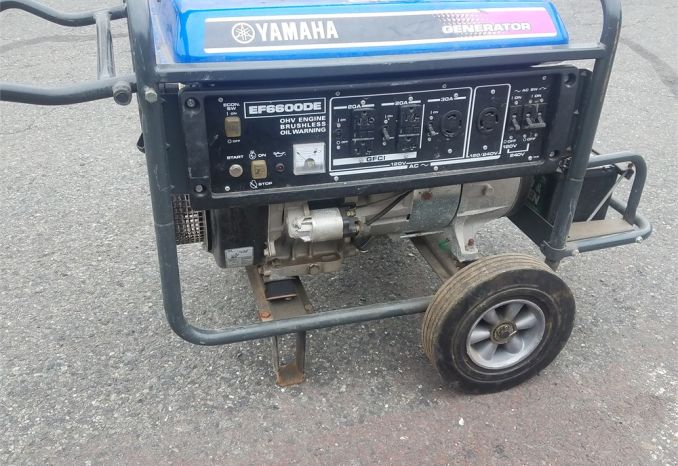 Yamaha 6600 Watt Generator