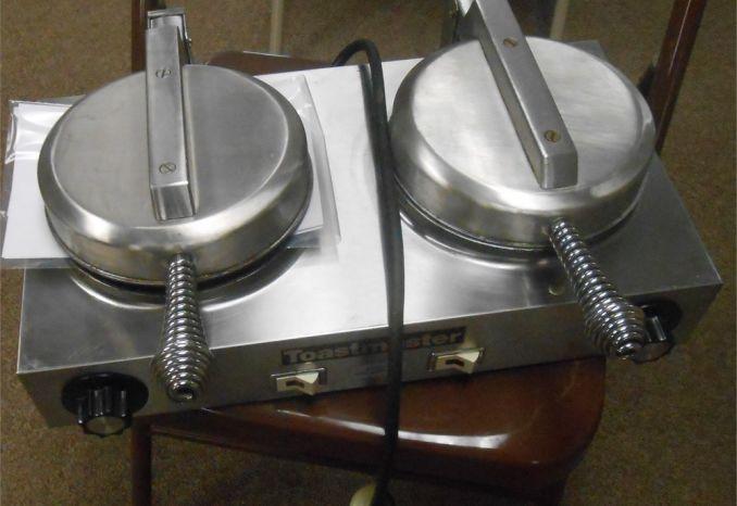 Toastmaster Double Commerical Waffle Iron