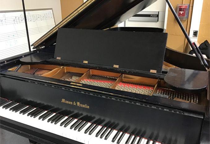~1950-51 Mason Hamlin 9' Grand Piano model CC