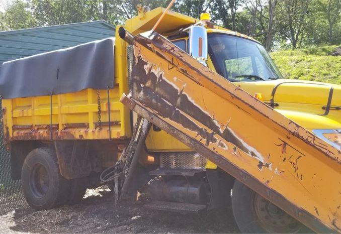 2002 International 7400 Dump Truck #144