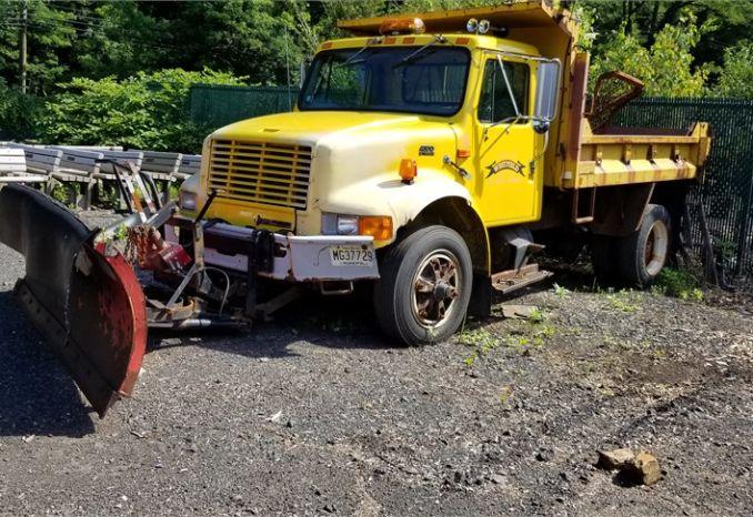 1999 International 4700 Dump Truck #113