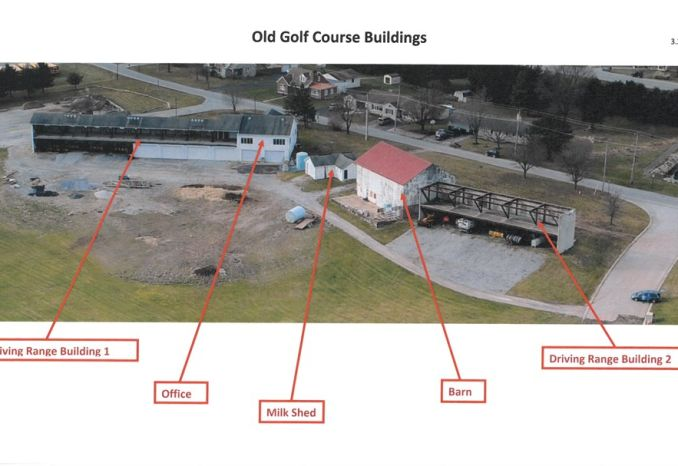Clubhouse and Driving Range Structures