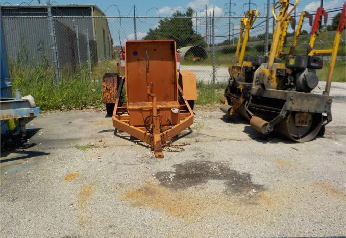 1995 AERIO 358 TAG-ALONG TRAILER (ONLY) / LOT2-950423
