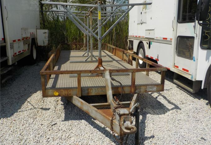 1995 BETTE BUILT PH1821FBH PINTAL HOOK TRAILER / LOT218-950352