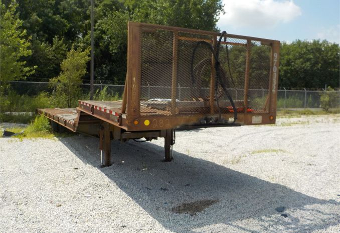 1997 TRAIL E EZE DLX40TC48 EQUIPMENT TRAILER / LOT282-970132