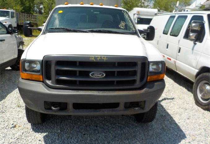 2000 FORD F550 XL SUPER DUTY 4X2 PICKUP / LOT274-005152