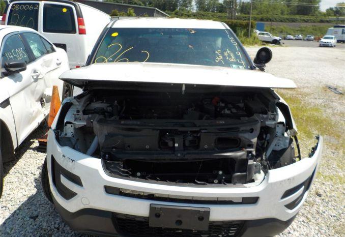 2016 FORD 4X4 POLICE INTERCEPTOR SUV / LOT262-165194