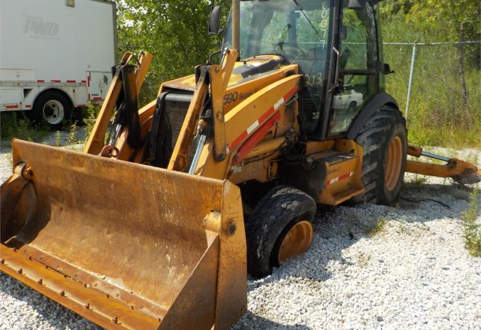 2008 CASE 590 SUPER M BACKHOE WITH CLAW BUCKET / LOT213-080077