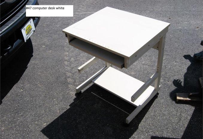 Computer Desk White (#47)