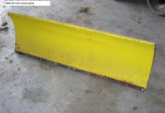 54 inch Snow Plow (#44)