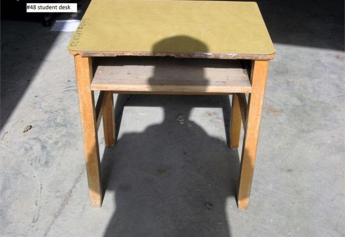 Student Desk (#48)