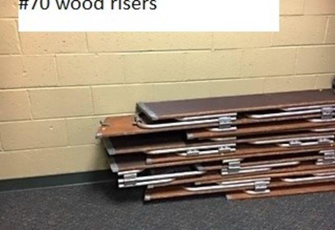Wood Risers (#70)