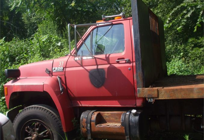 1993 Ford F-800 Flat Bed