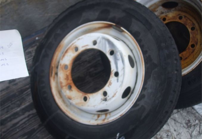 1 Good year 6291 Tire and Rim