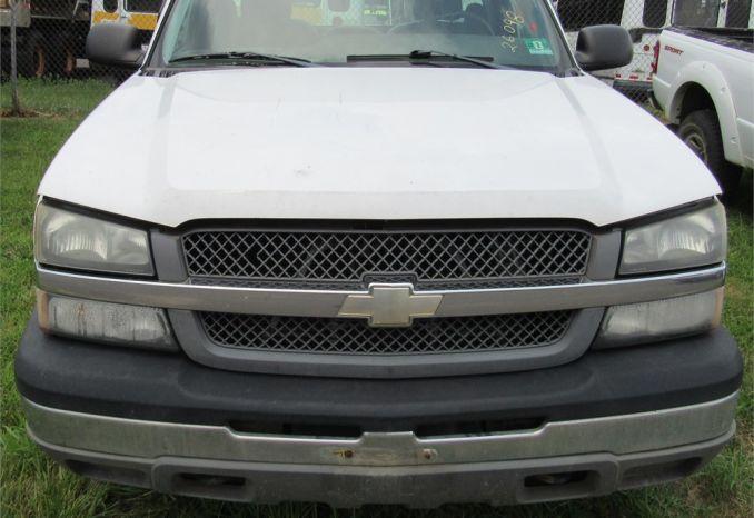 2005 Chevy Silverado 4x4-DSS2230