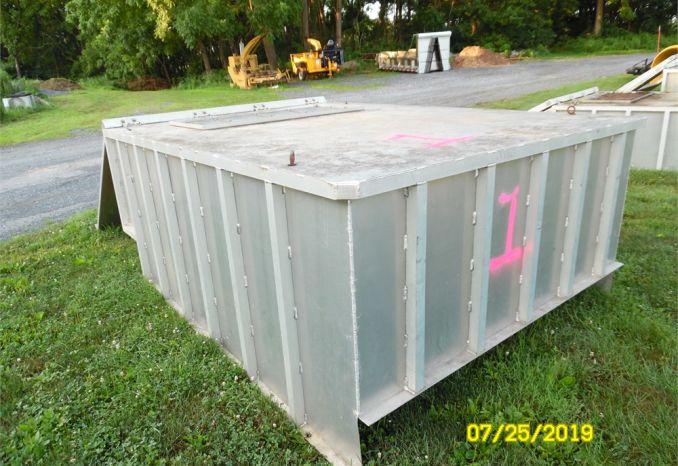 Aluminum Leaf Box