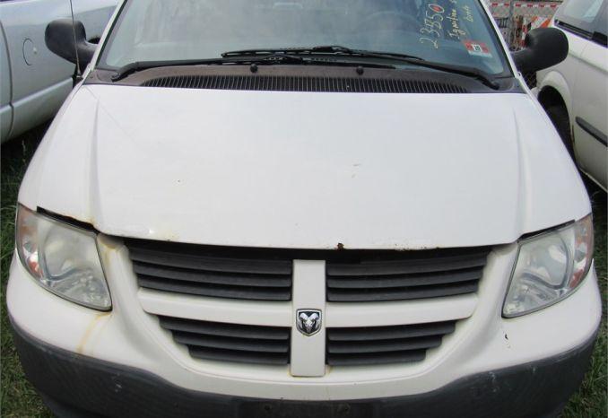 2005 Dodge Caravan-DSS2237