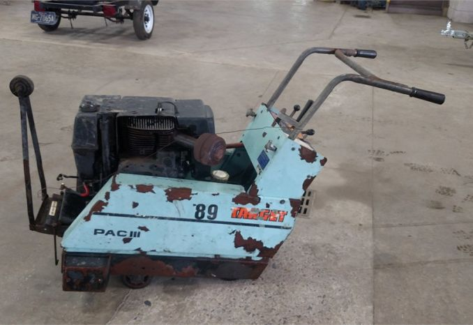 2006  Target Pac III Concret Saw