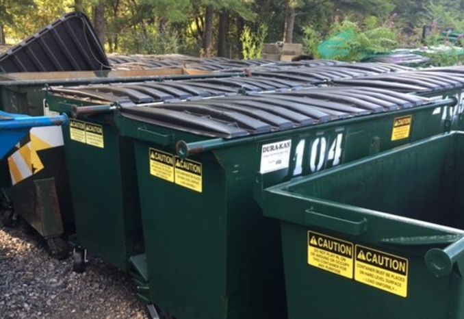 Rear Load Refuse Dumpsters (1, 2 and 4 Yard)