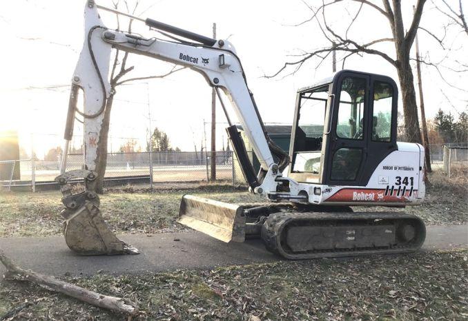 2003 Bobcat 341D Track Excavator