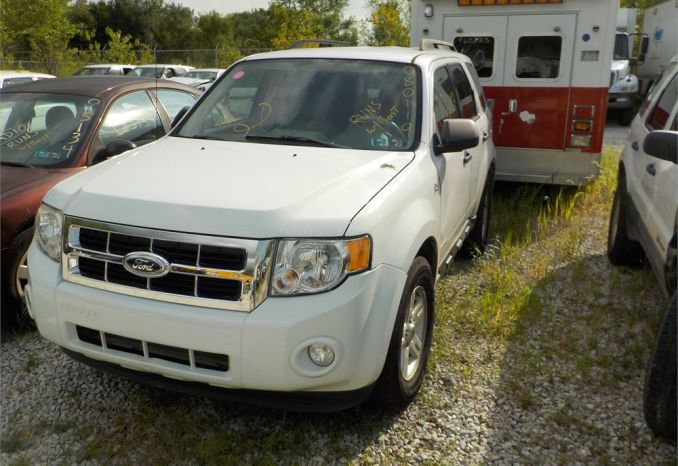 2008 ESCAPE-HYBRID 4X4 SUV / LOT462-080119-R