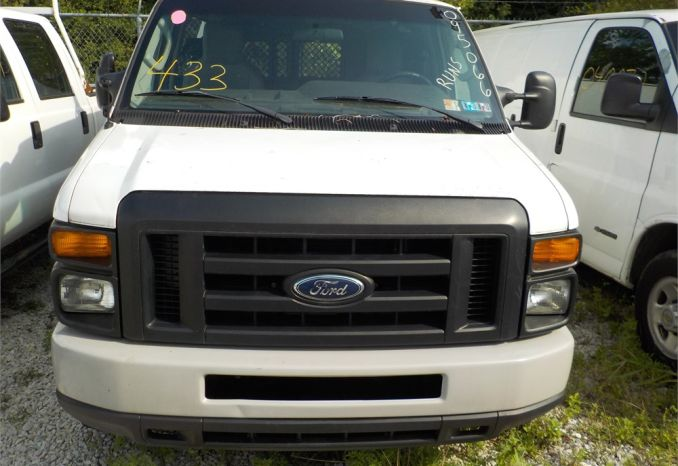 2009 FORD E250 SUPER DUTY RWD CARGO VAN / LOT433-095066-R