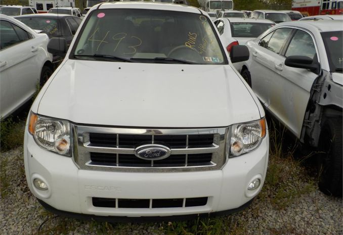 2008 FORD ESCAPE-HYBRID 4X4 SUV / LOT493-085224-R