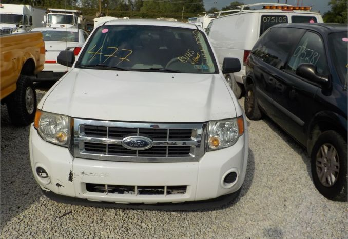 2008 FORD ESCAPE 4X4 SUV / LOT477-085336-R