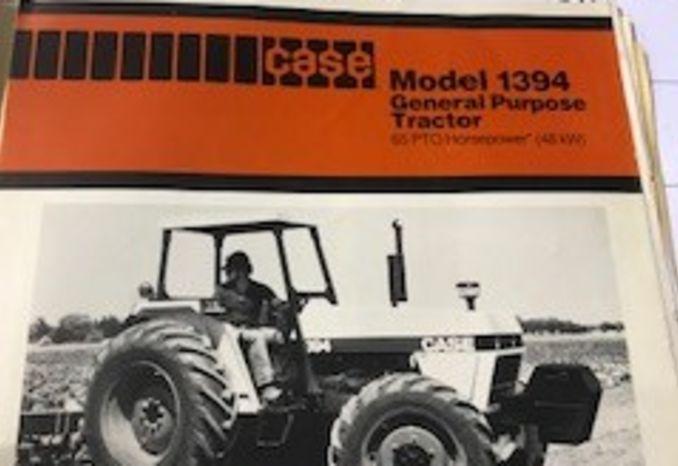 1985 model Case Tractor/model # 1294