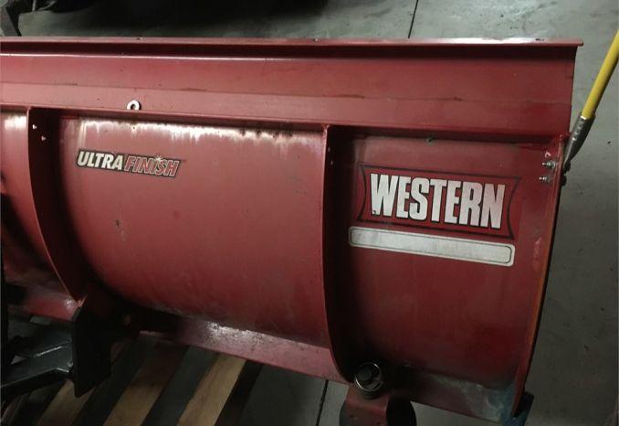 Western 8' Snow Plow