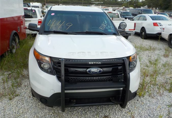 2013 FORD 4X4 POLICE INTERCEPTOR SUV / LOT449-135118-R