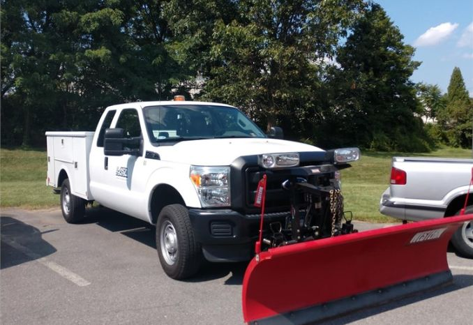 2011 Ford F-250 Supercab Utility Truck/Plow