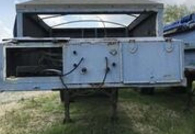 1989 Theile Sludge Trailer, overall in poor condition