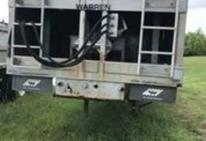 2013 Warren Sludge Trailer