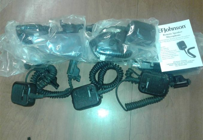 EF Johnson Portable Radios
