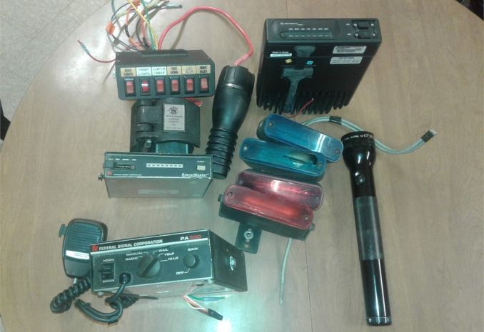 Misc Police Electronics & Equipment