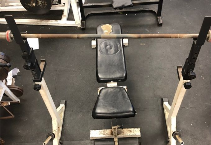 Adjustable Bench/Squat Rack