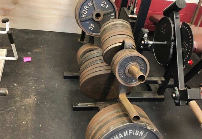 Weight Racks (2) with weights included