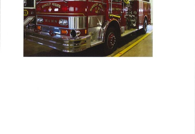 1982 Hahn fire pumper