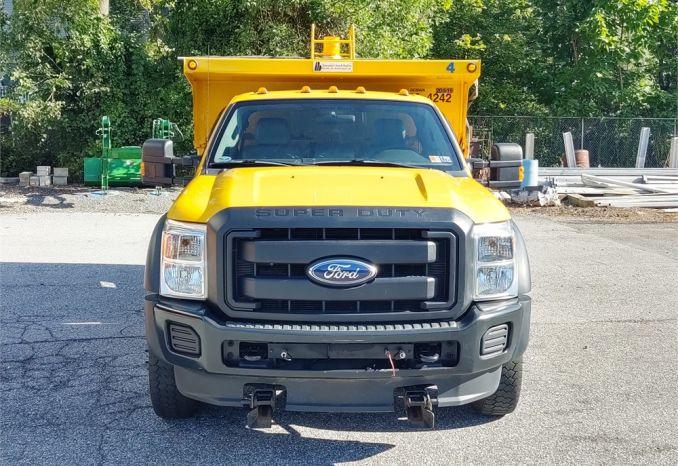 2012 Ford F-550 4WD Dump Truck