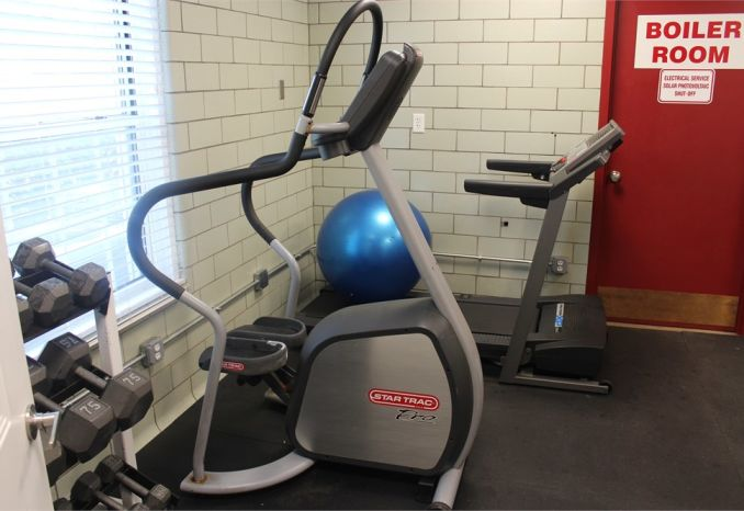 Star Trac stair stepper exercise machine