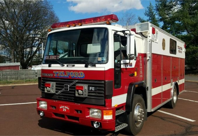 Fire Truck - Special Service - Dry Rescue Box