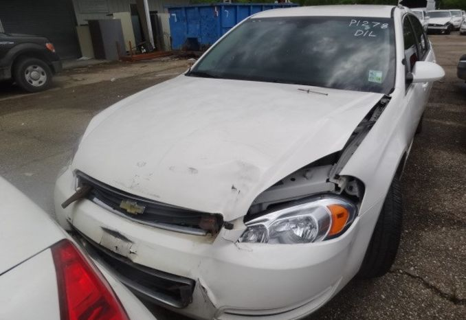 2009 Chevrolet Impala, Wrecked, does not run