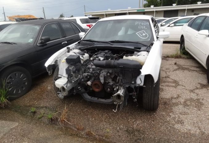 2012 Dodge Charger, doesn't run, wrecked in front
