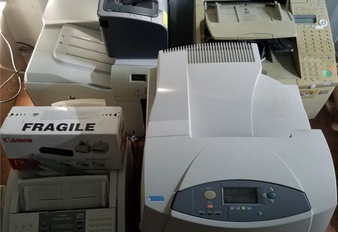 Printers and Fax Machine
