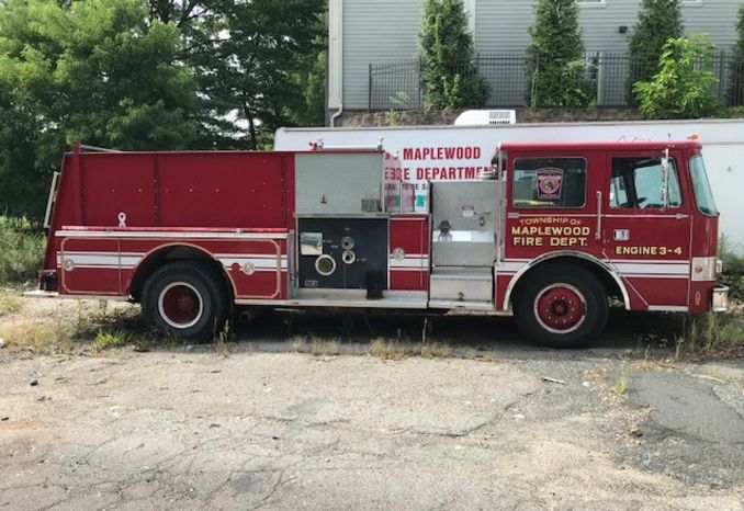 1987 Pierce Arrow Pumper