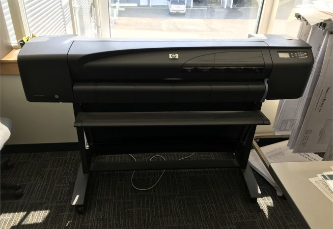 2002 HP DESIGN JET 800, PLOTTER PRINTER